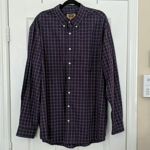 The Foundry Supply Company Plaid Button Down Shirt